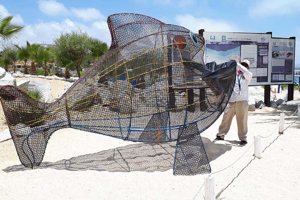 Los Cabos, Zofemat se suma al reciclaje con programa de recolección de botellas deplástico