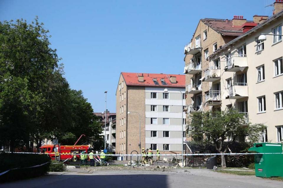 Explosión deja 20 heridos en complejo habitacional del sur de Suecia