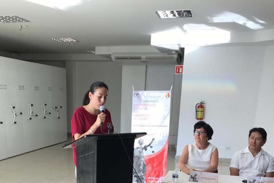 Expide Congreso del Estado de BCS leyes con perspectiva de género: Milena Quiroga