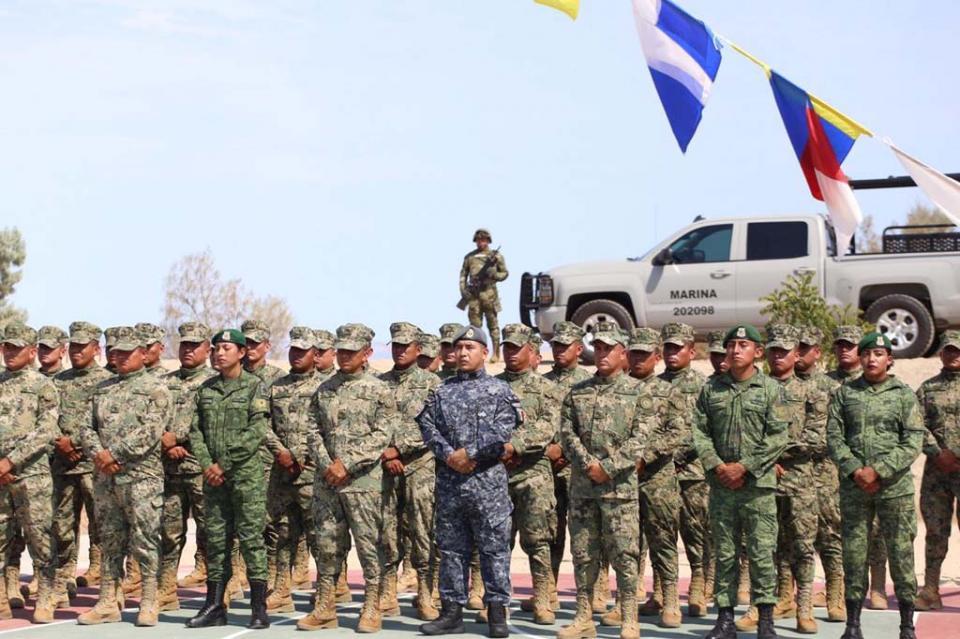 Egresan primeros elementos que se integran a la Guardia Nacional en BCS