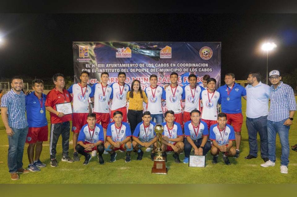 Con gran participación se celebra el Primer Torneo de la Liga Municipal de Soccer INDEM Los Cabos 2019