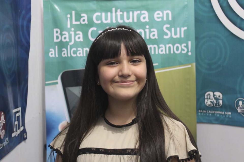 Artista sudcaliforniana formará parte de la Orquesta Sinfónica Infantil de México