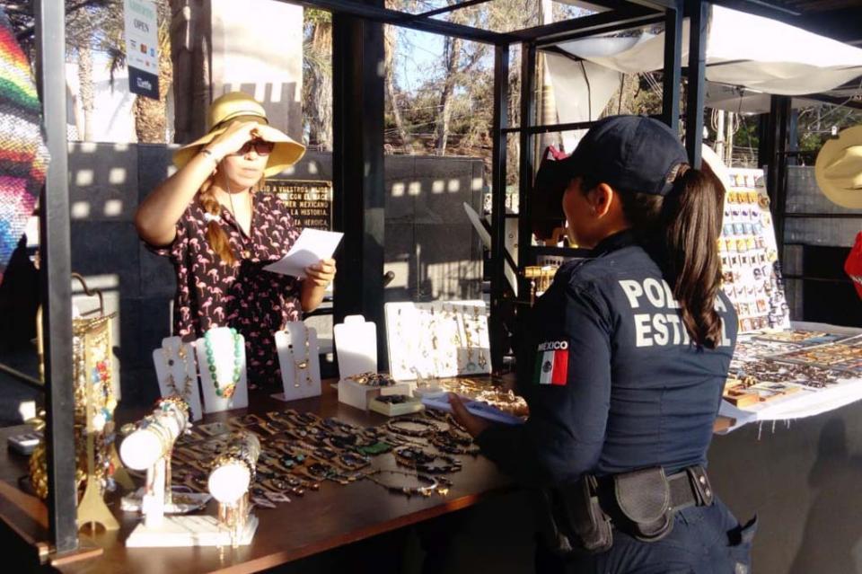 Incrementa Policía Estatal Preventiva seguridad en malecón de La Paz