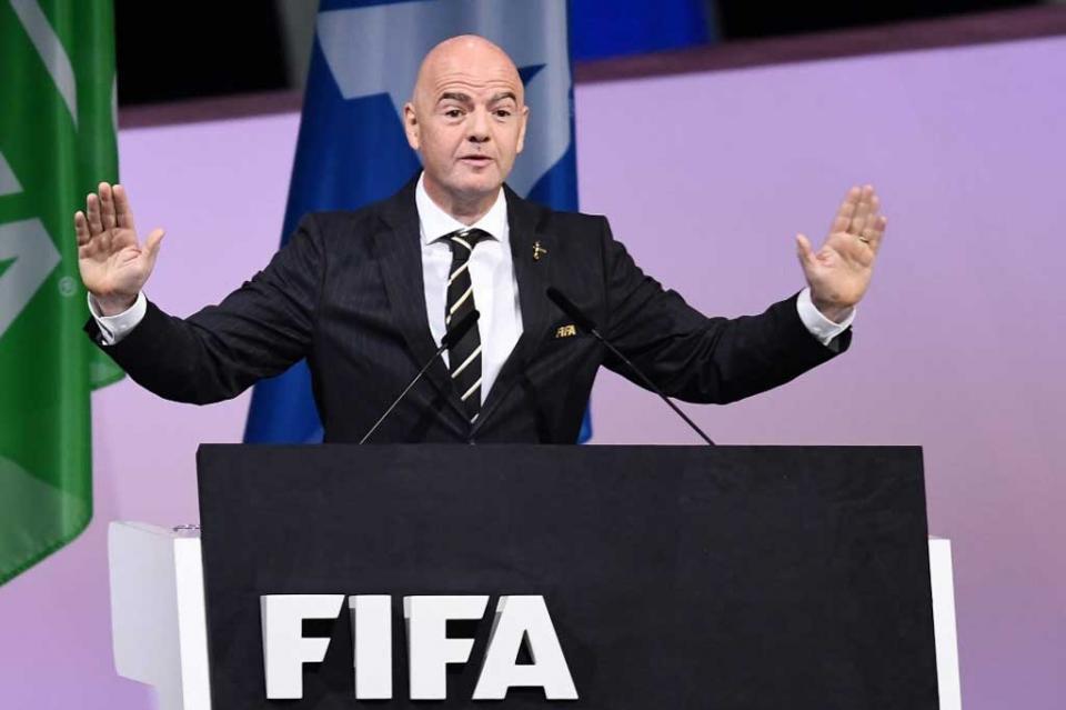 Reeligen a Gianni Infantino al frente de FIFA hasta 2023