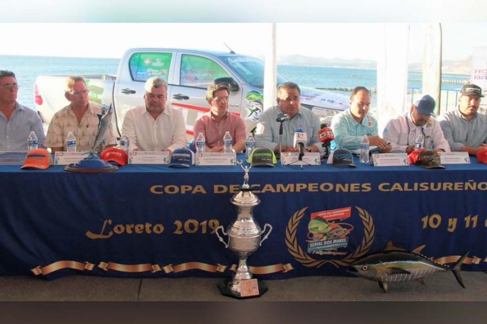 10 y 11 de agosto la gran final del serial estatal de pesca deportiva Copa Calisureños