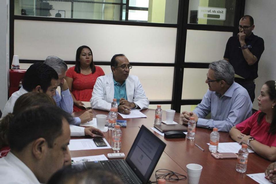 Secretaría de Salud instala comité de control y desempeño institucional
