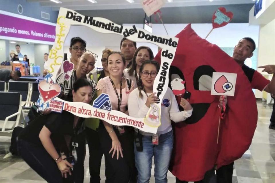 Realiza Salud jornada de sensibilización de donación de sangre