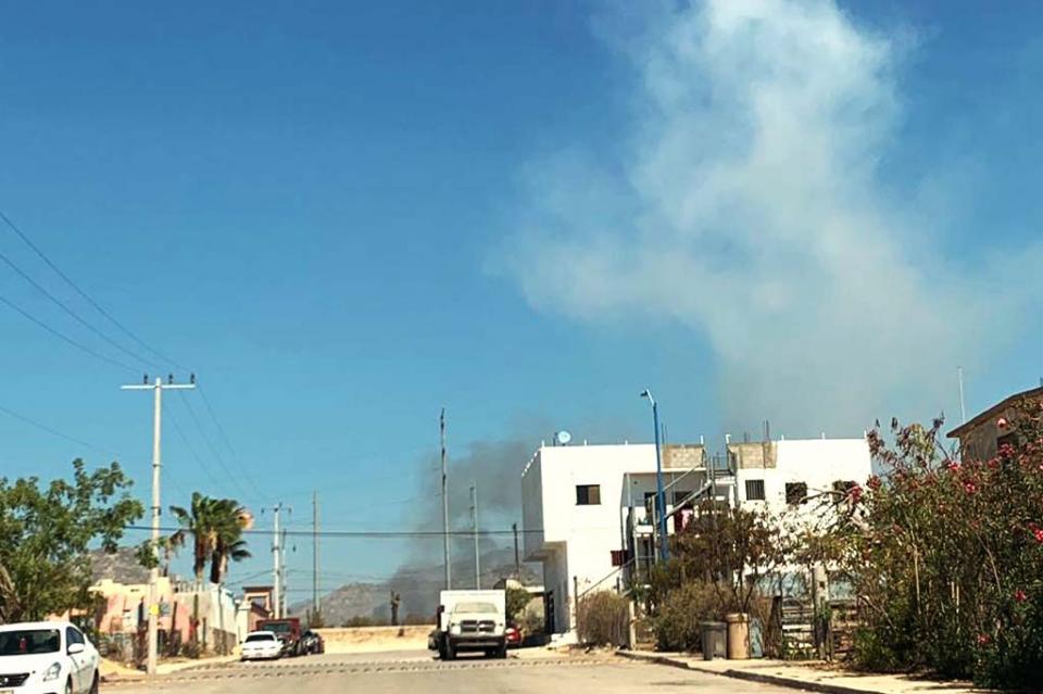 Fuerte explosión en almacén de pólvora en San José del Cabo