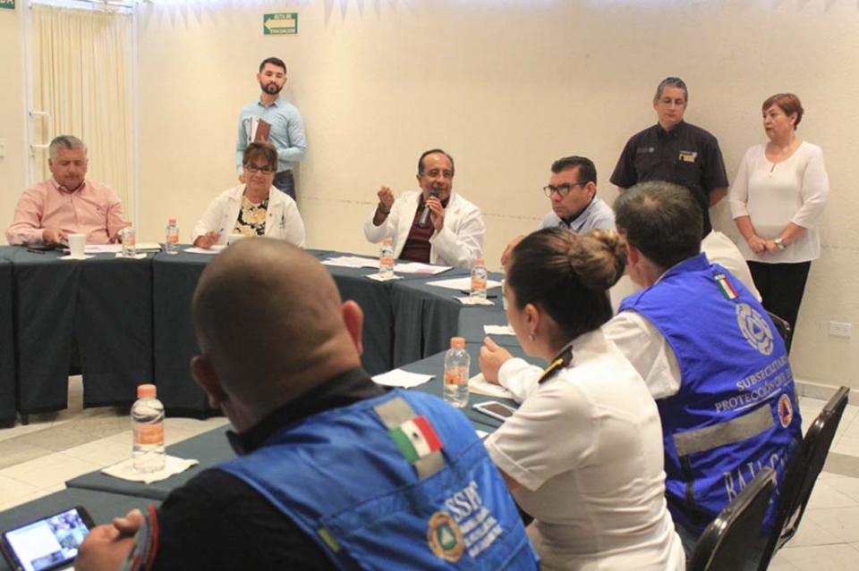 Fortalece Salud acciones preventivas por temporada de huracanes