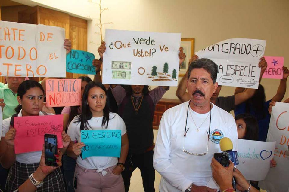 Buscan sumar a Greenpeace y a AMLO al rescate del Estero de SJC
