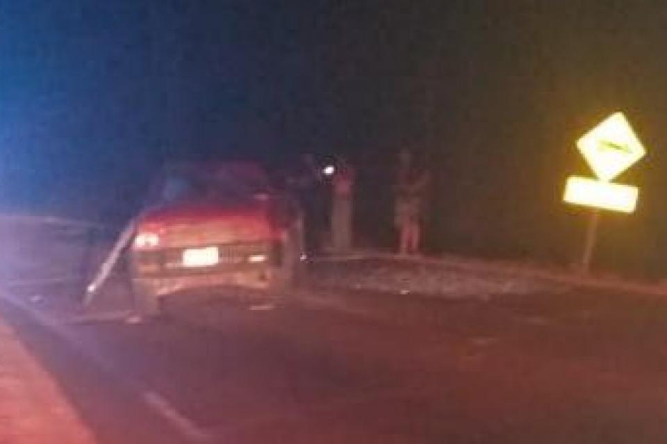 Muere un hombre en volcadura automovilística en Las Cuevas