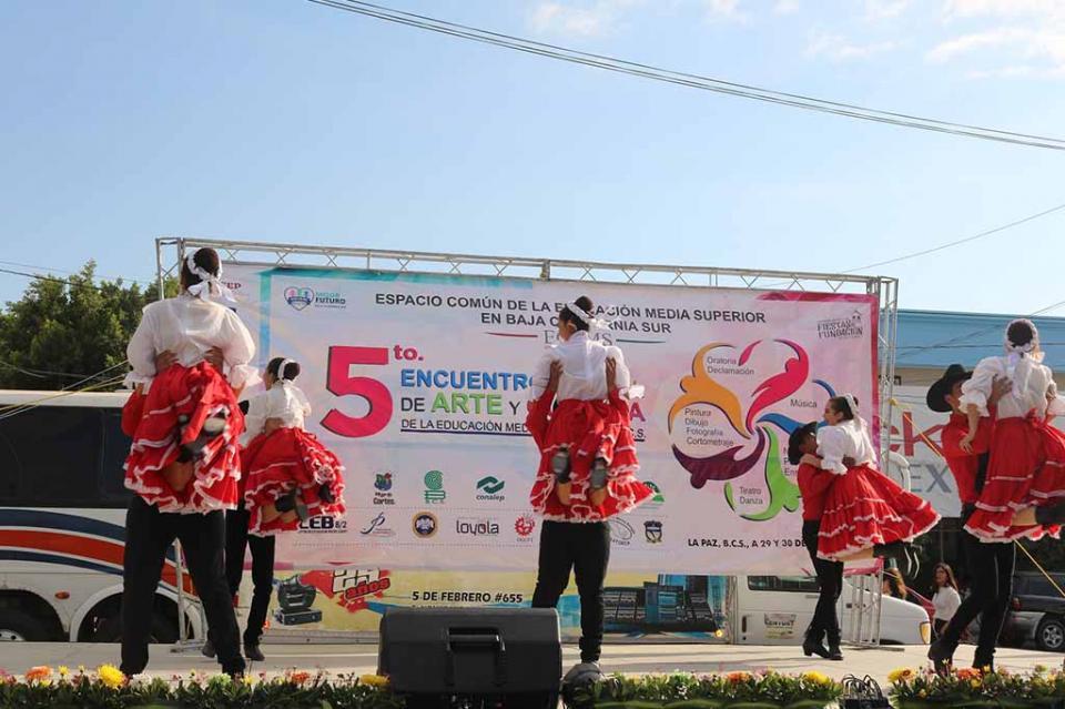 Culmina con Festival y Concurso de Canto V Encuentro Estatal de Arte y Cultura de Media Superior