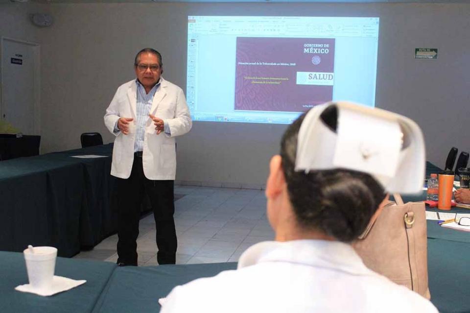 Con capacitación SSA de BCS fortalece la vigilancia epidemiológica de tuberculosis