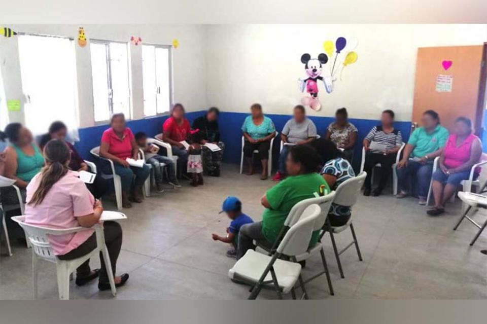 Salud desarrolla talleres para víctimas de violencia en pareja