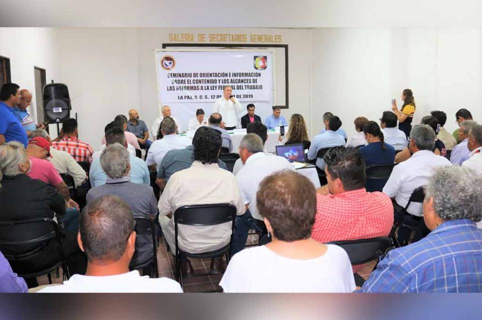 Paz laboral factor de desarrollo económico y social en Baja California Sur