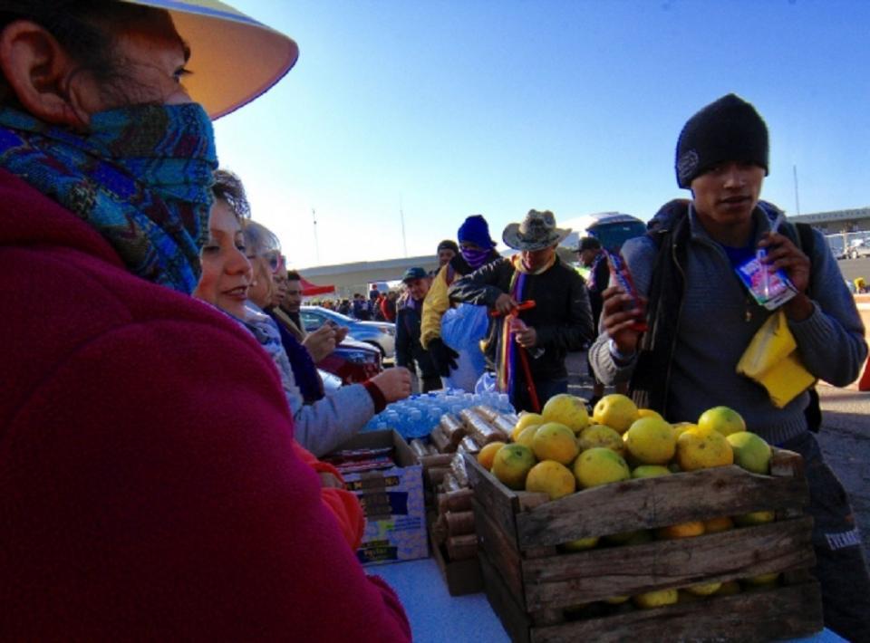 Caravana del Migrante parte de Laredo, Texas, rumbo a Querétaro