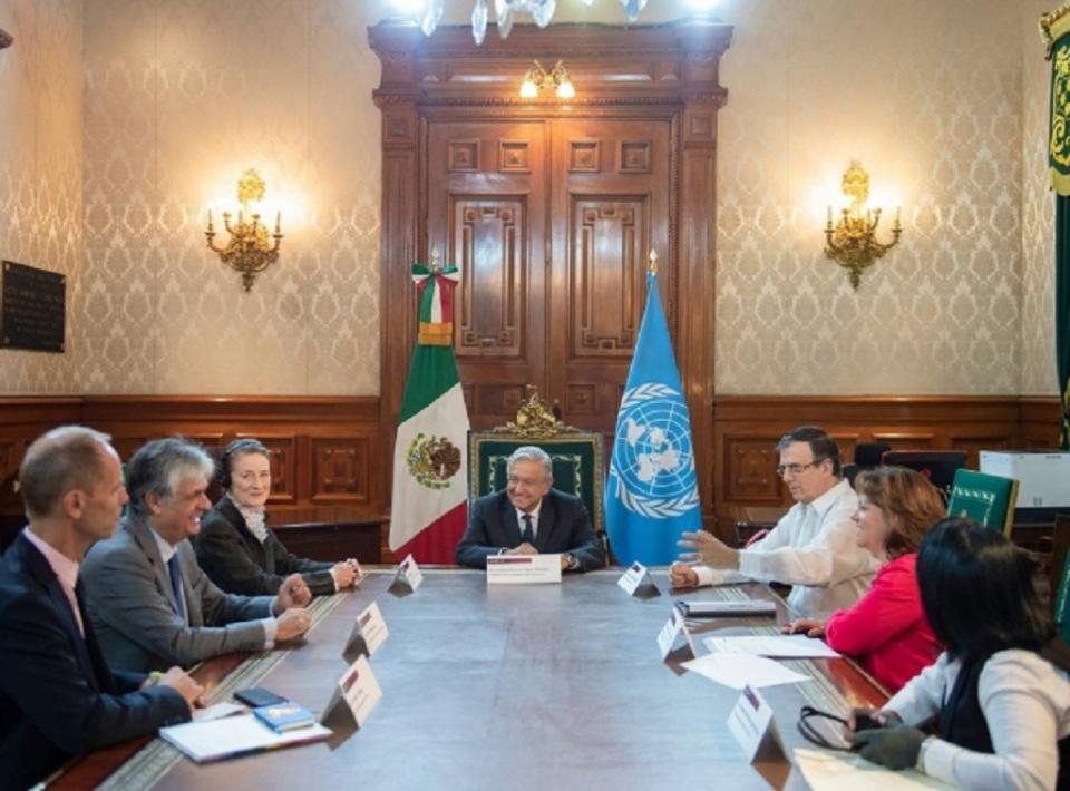 México y Unicef trabajarán juntos a favor de niños migrantes