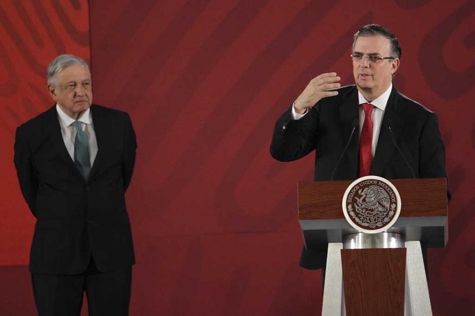 Ebrard rechaza criminalización de migrantes y destaca freno a aranceles