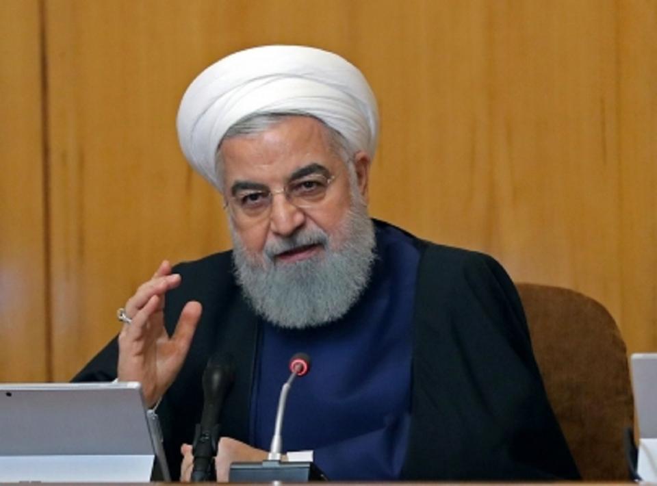 Irán no busca una guerra con EUA a pesar de las sanciones Rohaní