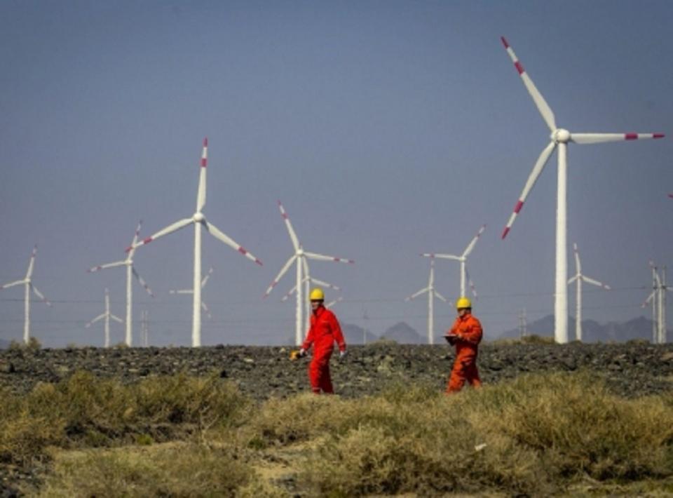 Energía solar y eólica crece 12 por ciento en noreste de China