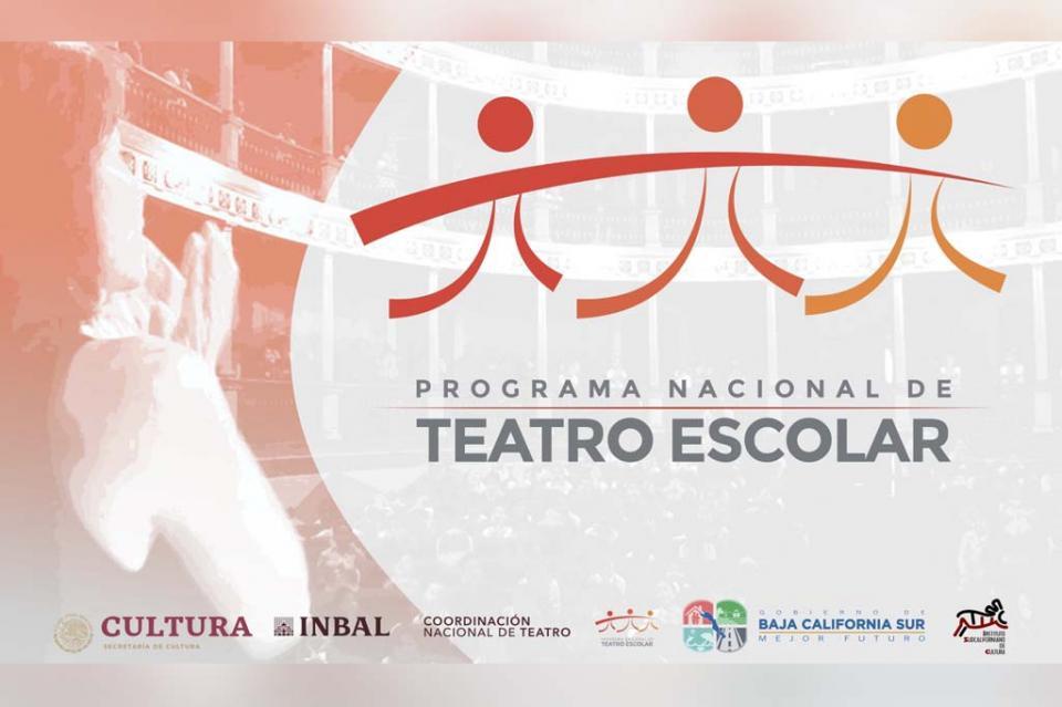 Abierta la convocatoria del Programa Nacional de Teatro Escolar 2019