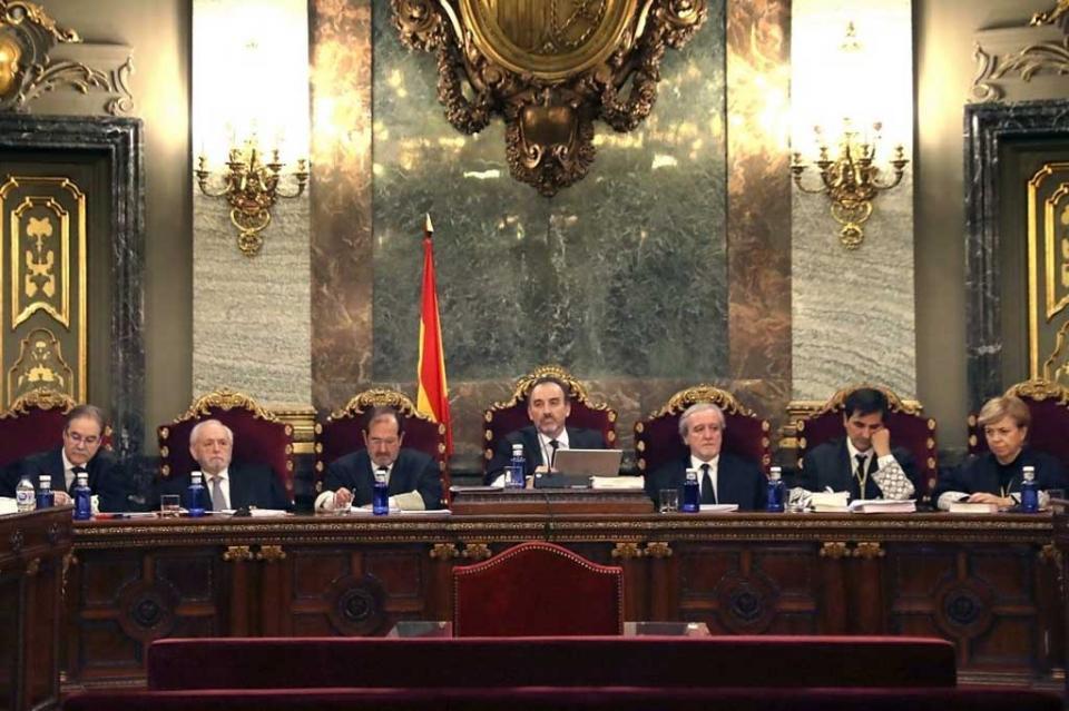 Visto para sentencia el histórico juicio a independentistas catalanes en España