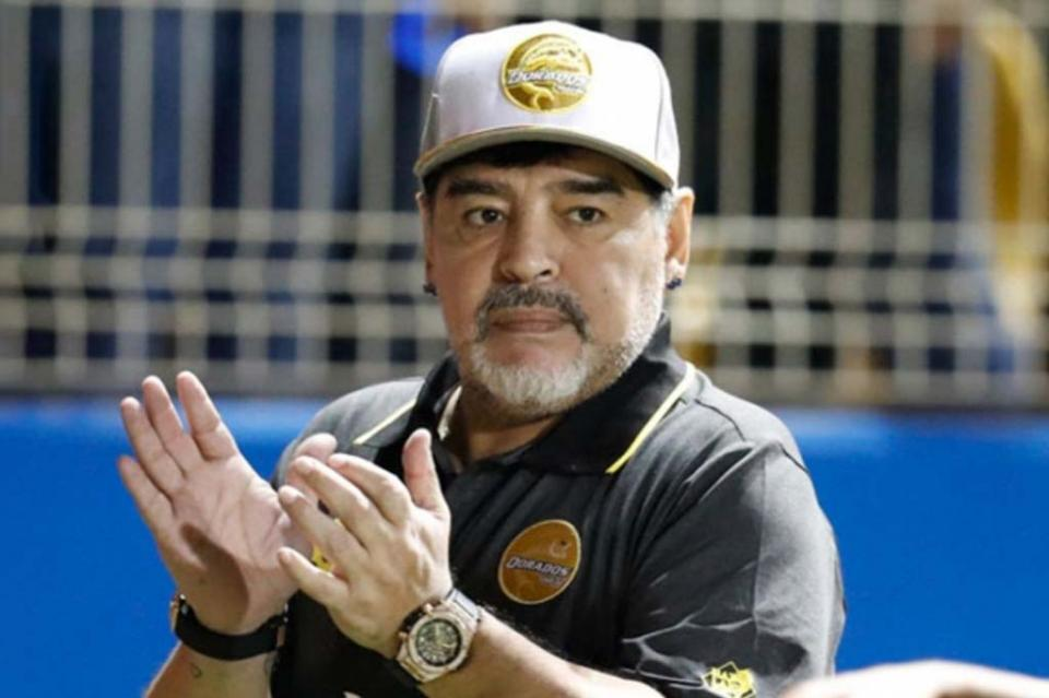 Maradona deja dirección técnica de Dorados por motivos de salud