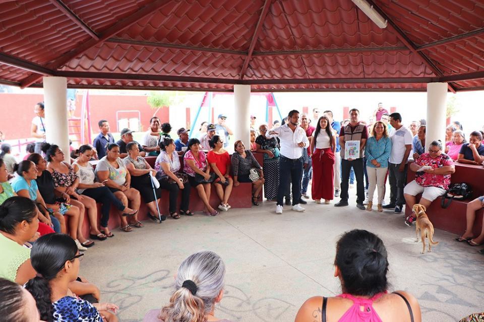 """Gobierno Municipal gestiona la creación de Comités Ciudadanos para cuidado y vigilancia de obras del programa """"Mi México Late"""""""