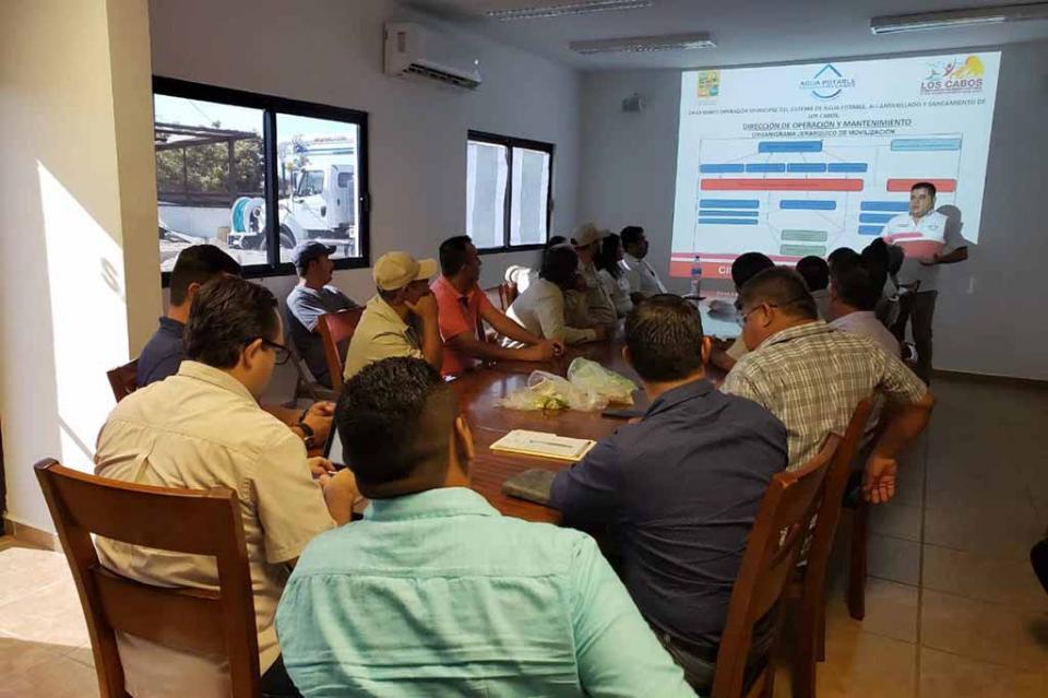 Presenta OOMSAPAS Los Cabos Plan de Contingencia para la Temporada de Huracanes 2019