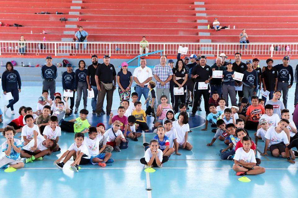 Promoviendo el sano desarrollo concluye el Curso de Verano Deportivo INDEM 2019 en CSL