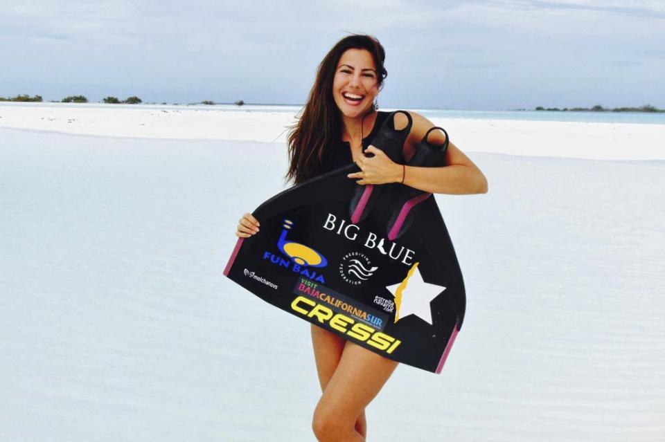 Estrella Navarro competirá en el Mundial de Buceo Libre