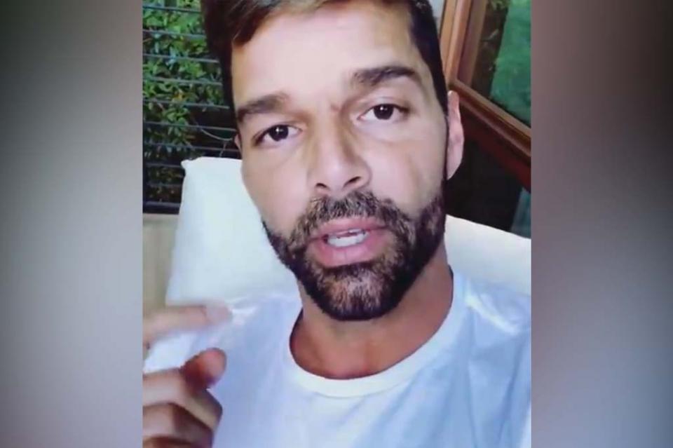 Ricky Martin confiesa sufrir depresión y tristeza durante cuarentena
