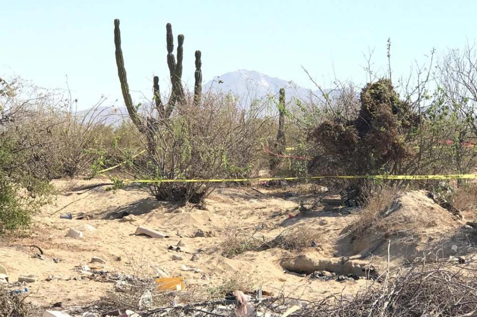 Hallan otro cuerpo de persona en colonia Leonardo Gastelum en Cabo San Lucas