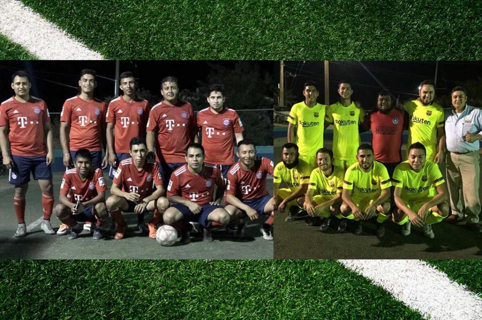 Por definirse finalistas de la Liga de Futbol 7 de la Salud y Empresarial