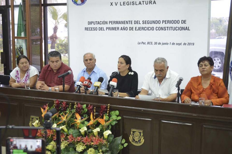Presenta postura Fracción Morenista en el Congreso de BCS