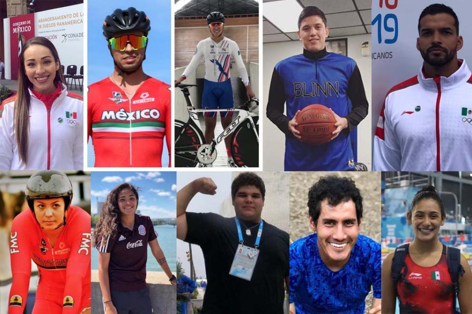 Aporta BCS 10 atletas a selección nacional que va a Juegos Panamericanos Lima 2019