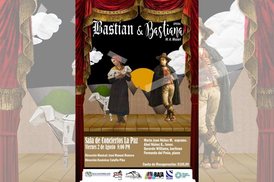 Presentará ISC la Ópera Bastían y Bastiana