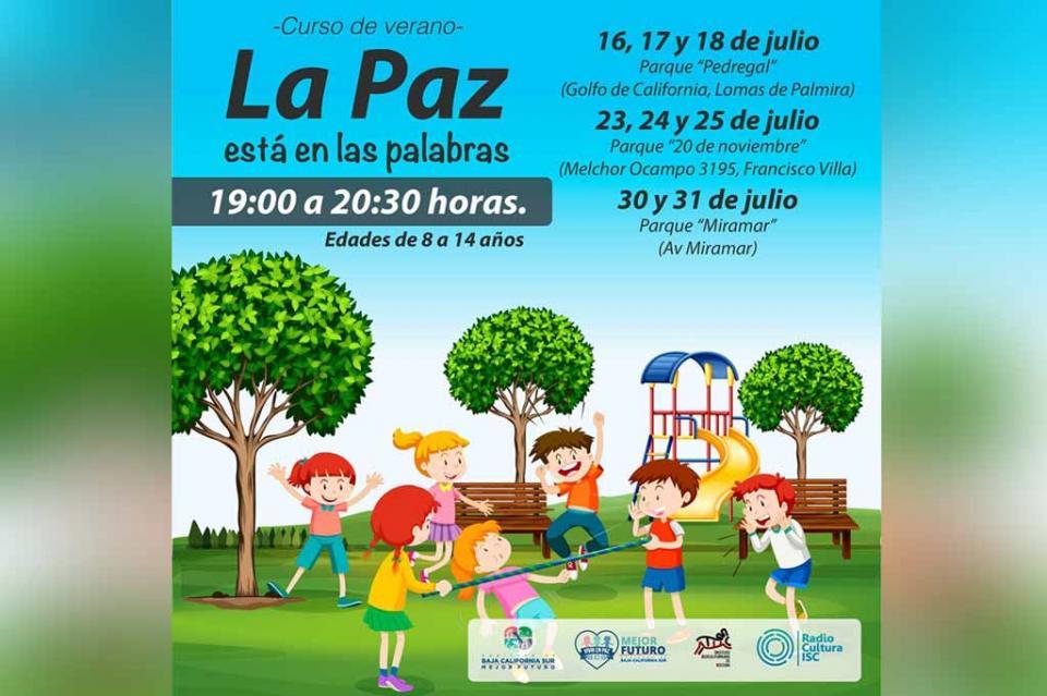 """ISC invita a los peques del hogar a tomar el curso de verano """"La Paz Está en Las Palabras"""""""