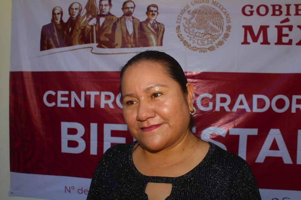 """""""Con ley comunidades indígenas, podrán tener acceso a la educación, salud y trabajo digno"""" diputada Petra Juárez"""