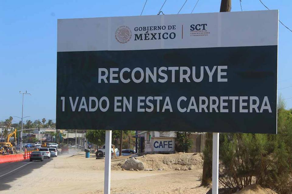 Ciudadanos se quejan por la poca información en el inicio de la pavimentación del vado de El Zacatal- San José Viejo