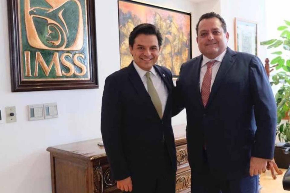 Se reúne gobernador con director general del IMSS