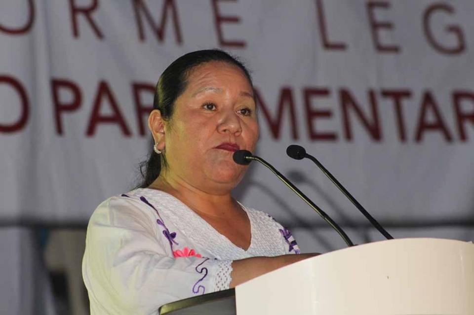 Destaca diputada Petra Juárez ley en derechos indígenas y de personas desaparecidas en BCS