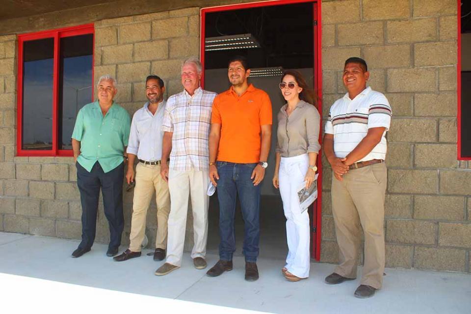 Importante avance registra construcción del Centro Juvenil Comunitario Ilumina: John Pens