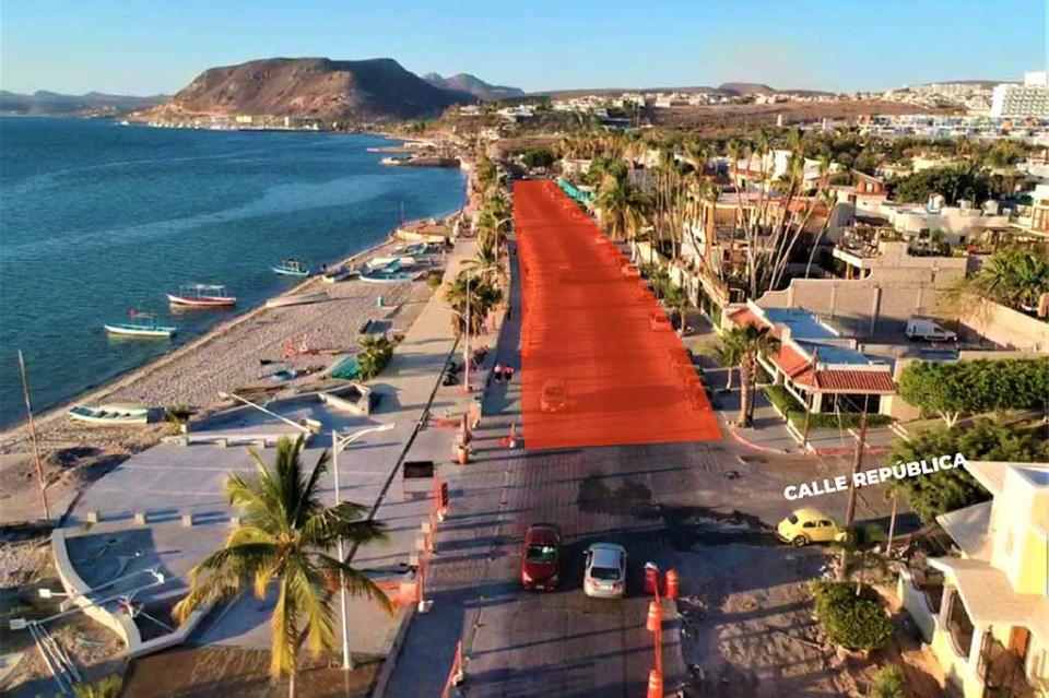 Este viernes habrá cierre parcial del malecón de La Paz