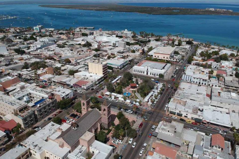 Continuará SEPUIM con embellecimiento del centro histórico de La Paz