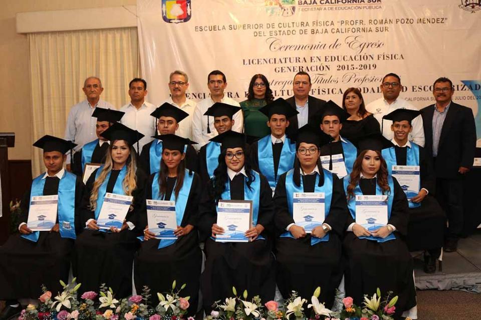 Avanza ESCUFI como una institución consolidada en BCS