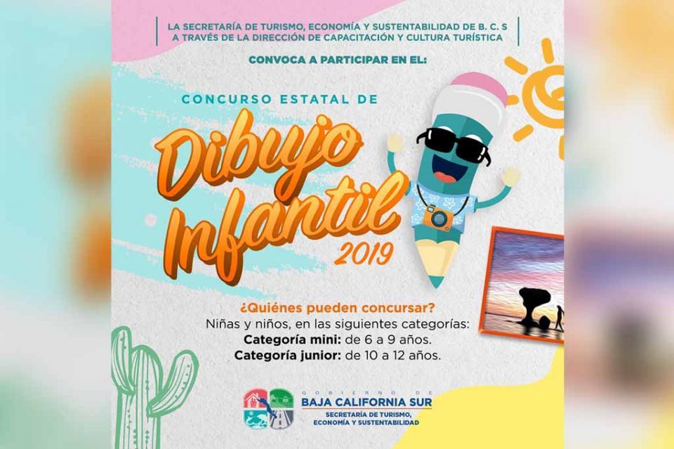 Convoca SETUES a Concurso Estatal de Dibujo Infantil 2019