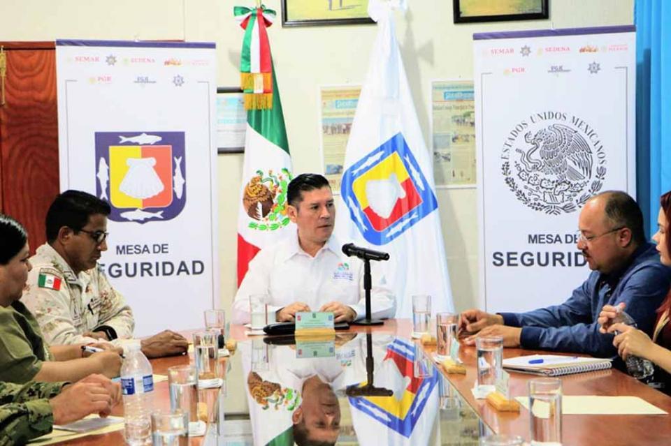 Fortalece Mesa de Seguridad coordinación en todos los municipios de BCS
