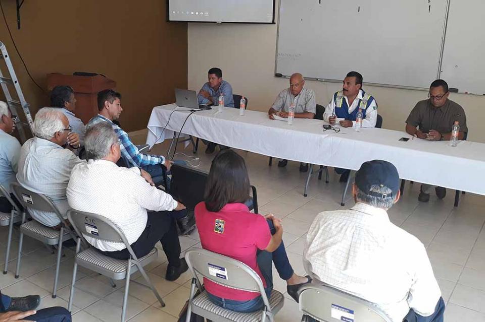 Gobierno del Estado y Ayuntamiento de La Paz, coordinan acciones de Protección Civil