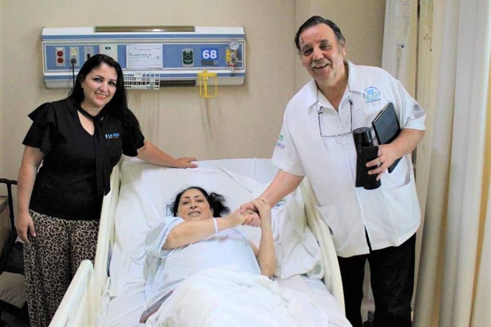 Efectuó Salud jornada de Cirugías Ortopédicas para pacientes con problemas de movilidad